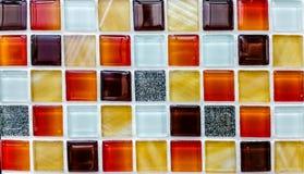 Colore a parede do mosaico Fotografia de Stock