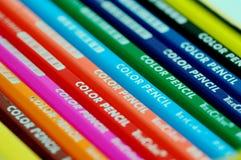 Colore pencil-3 Fotografia Stock Libera da Diritti