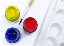 Colore primario Fotografie Stock