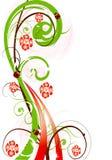 Colore rosa astratto g della sorgente del fiore dell'illustrazione del fiore Immagine Stock Libera da Diritti
