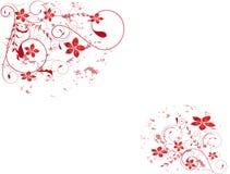Colore rosa astratto g della sorgente del fiore dell'illustrazione del fiore Fotografie Stock Libere da Diritti