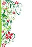 Colore rosa astratto g della sorgente del fiore dell'illustrazione del fiore Fotografia Stock