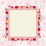 Colore rosa della priorità bassa Fotografie Stock