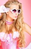 Colore rosa di fascino immagini stock