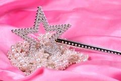 Colore rosa di magia Fotografie Stock
