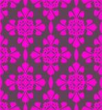 Colore rosa e passione senza giunte grigia Immagine Stock