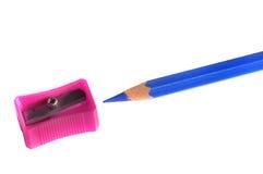 Colore rosa ed azzurro Immagine Stock