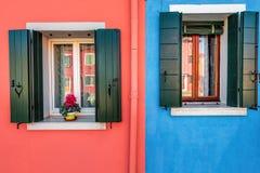 Colore rosa ed azzurro Fotografie Stock Libere da Diritti