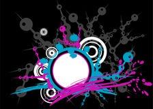 Colore rosa ed azzurro rovesciati Immagine Stock Libera da Diritti