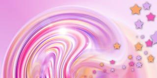 Colore rosa favoloso Fotografia Stock Libera da Diritti