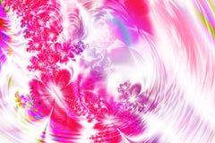 Colore rosa floreale Fotografia Stock