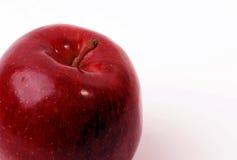 Colore rosso del Apple Immagini Stock
