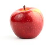 Colore rosso del Apple. Isolato Immagine Stock