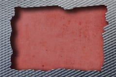 Colore rosso del metallo Immagini Stock Libere da Diritti