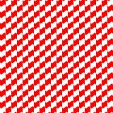 Colore rosso del modello geometrico senza cuciture Fotografia Stock