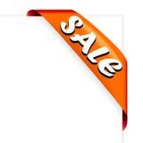 Colore rosso del nastro di vendita Immagine Stock Libera da Diritti