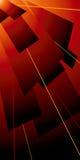Colore rosso dell'alettone di Lazer illustrazione vettoriale