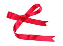 Colore rosso dell'arco su bianco Immagine Stock Libera da Diritti
