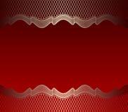 Colore rosso della priorità bassa della maglia fotografia stock