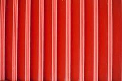 Colore rosso di legno Fotografia Stock Libera da Diritti