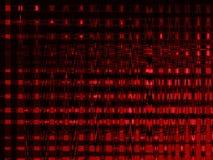 Colore rosso di tecnologia Immagini Stock