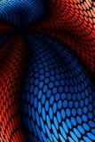 Colore rosso ed azzurro illustrazione vettoriale