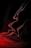 Colore rosso ed il nero royalty illustrazione gratis