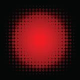 Colore rosso istantaneo macchiato Immagini Stock