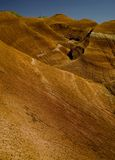 colore rosso montagnoso di paesaggio Fotografia Stock