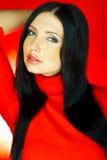 Colore rosso uno Fotografia Stock