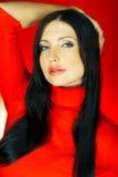 Colore rosso uno Fotografie Stock
