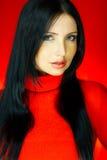 Colore rosso uno immagini stock
