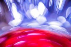 Colore scorrente del fondo astratto sopra stagnola Immagini Stock