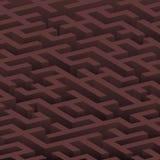 colore scuro del labirinto 3d Illustrazione di Stock