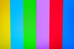 Colore TV senza il fondo del segnale Fotografia Stock Libera da Diritti