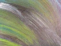 Colore verde e marrone del fondo di astrattismo Fotografia Stock Libera da Diritti