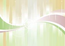 Colore verticale dell'onda Illustrazione di Stock