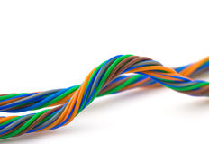 Colore wires Stock Photo