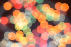 Colorea el bokeh Fotografía de archivo libre de regalías