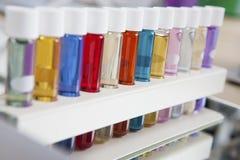 Colorea los frascos Fotografía de archivo