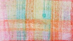 Coloreado en los fondos blancos Imagen de archivo libre de regalías