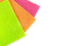 Coloreado friegue las pistas Fotos de archivo