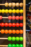 Colored Abacus Stock Photo