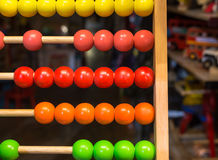 Colored Abacus  Royalty Free Stock Photography