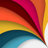 Colored abstract background Stock Images
