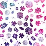Colored Abstract  Background Seamless Pattern. Vector Illustration. EPS10 Stock Image