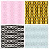 Colored Abstract  Background Seamless Pattern. Vector Illustration. EPS10 Stock Photo