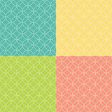 Colored Abstract  Background Seamless Pattern. Vector Illustration. EPS10 Royalty Free Stock Photos