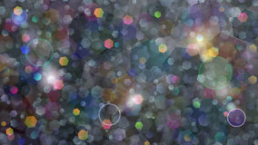 Colored abstract background of small hexagons Royalty Free Stock Image