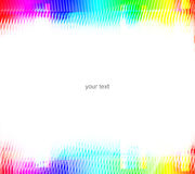 Colored abstract frame Royalty Free Stock Images